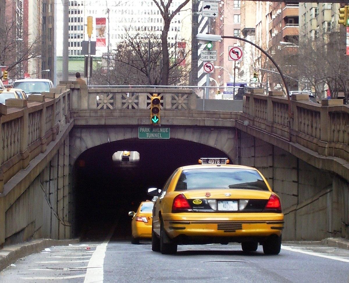 Cars Com Ny >> Park Avenue Tunnel (roadway) - Wikipedia