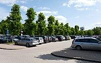 Parking lot at Norra Älvsborgs Länssjukhus (NÄL) 1.jpg