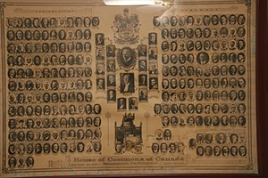 17th Canadian Parliament - parliament of Canada 1930 seating plan