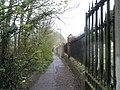 Path from James Lane to Peninsula Road - geograph.org.uk - 760793.jpg