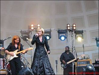 Patricia Kaas - Patricia Kaas on her Sexe fort-tour in 2005