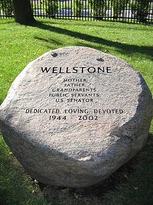 Paul Wellstone - Wellstone burial plot, Minneapolis, MN.
