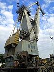 Peacock loading tower at the docks in Baku (3892482748).jpg