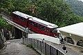 Peak Tram approaching Barker Road Station.jpg