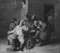 Peasants in a Beer-house (Mathys van Hellemont) - Nationalmuseum - 17459.tif