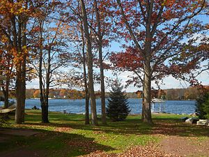 Penn Lake Park, Pennsylvania - Image: Penn Lake Park Luz Co PA 1