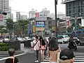 People on Wenhua Road Section 2, Banqiao District, New Taipei City 20120612.jpg