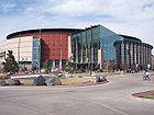 Pepsi Center in Denver, home of the Denver Nuggets National Basketball Association club, the Colorado Avalanche National Hockey League club, the Colorado Mammoth National Lacrosse League club, and the Colorado Crush Arena Football League club.
