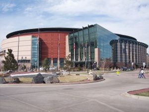 Sports in Colorado - Pepsi Center, home of the Denver Nuggets, the Colorado Avalanche, and the Colorado Mammoth.