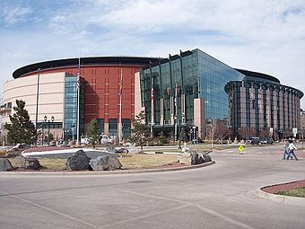 Pepsi Center, home of the Denver Nuggets, the Colorado Avalanche, and the Colorado Mammoth Pepsi Center.jpg