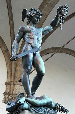 Perseus Cellini Loggia dei Lanzi 2005 09 13