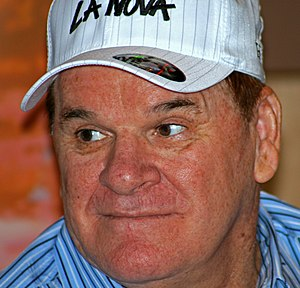 3,000 hit club - Image: Pete Rose 2008