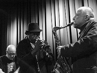 Joe McPhee - Joe McPhee, Peter Brötzmann and Kent Kessler performing in Aarhus, Denmark 2009