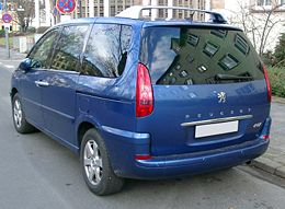 Peugeot 807 wikipedia for Interieur 807 8 places