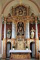 Pfarrkirche Sankt Kanzian am Klopeiner See - Hochaltar.JPG