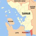 Ph locator samar marabut.png