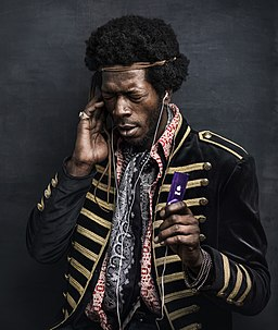 Philippe Echaroux - Portrait de Jimi Hendrix en 2014