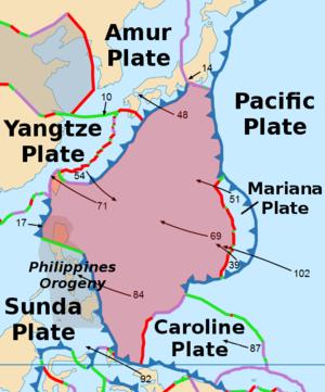 Philippine Sea Plate - Image: Philippine Plate