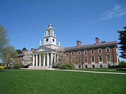 Phillips Academy, Andover, MA - Samuel Phillips Hall.JPG