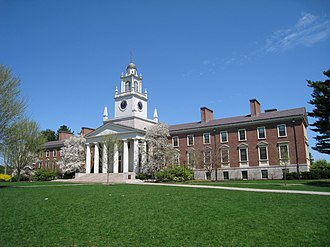 Phillips Academy - A view of Samuel Phillips Hall