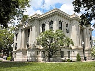 Phillips County, Kansas - Image: Phillips Co KS Courthouse