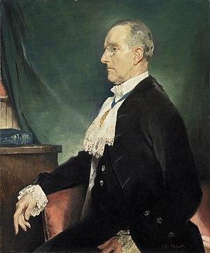Banister Fletcher (junior) - Sir Banister Fletcher, 1931, by Glyn Philpot
