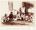 Photo of bhang drinkers, from the Indian Hemp Drugs Commission report, 1893.jpg
