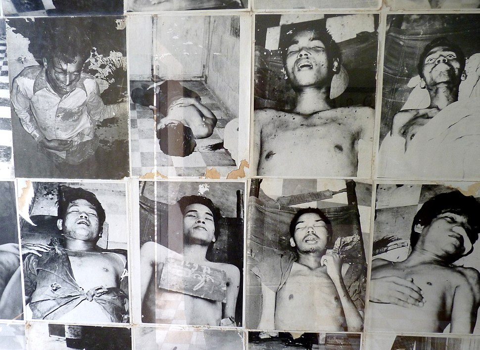 Photos of victims in Tuol Sleng prison (2)