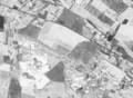 Piechcin, quarries Bielawy and Wapienny, and cement facility Kujawy (Poland) seen by the American reconnaissance satellite Corona 98 (KH-4A 1023) (1965-08-23).png