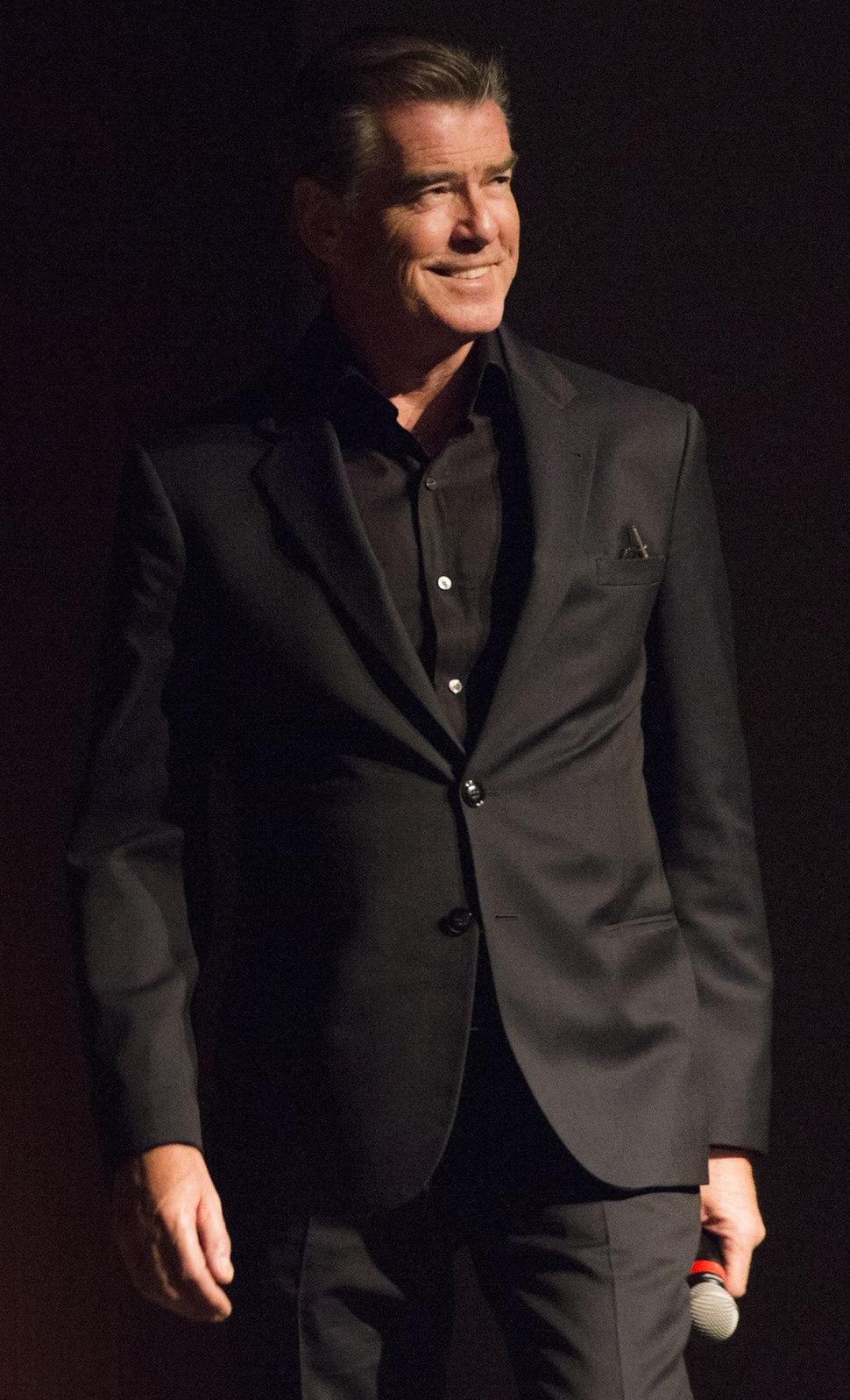 Pierce Brosnan at the LBJ Presidential Library 2017