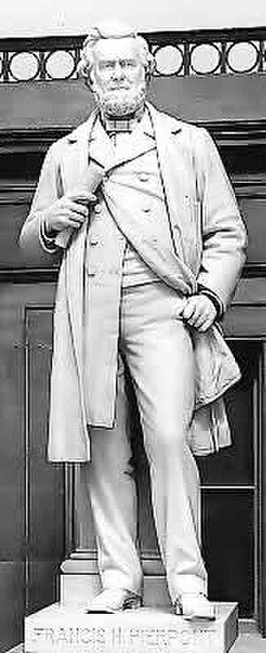 Francis Harrison Pierpont - Francis Harrison Pierpont, NSHC statue