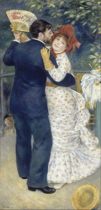 1883 in art - Pierre-Auguste Renoir, Dance in the Country, 1883, Musée d'Orsay, Paris, France