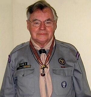 Piet J. Kroonenberg Scouting historian