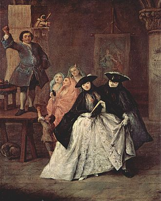 Quackery - Pietro Longhi's The Charlatan (1757)