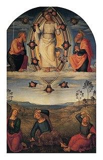 <i>Transfiguration Altarpiece</i> (Perugino)