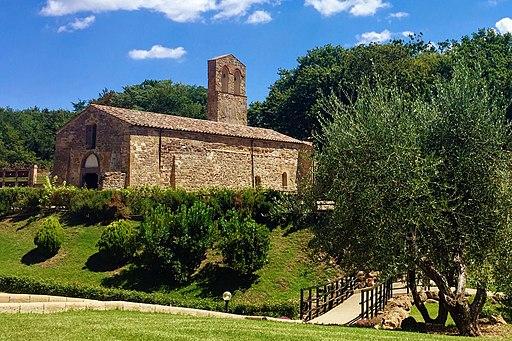Sorano, Pieve di Santa Maria dell'Aquila