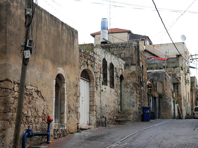 שכונה עתיקה בטייבה