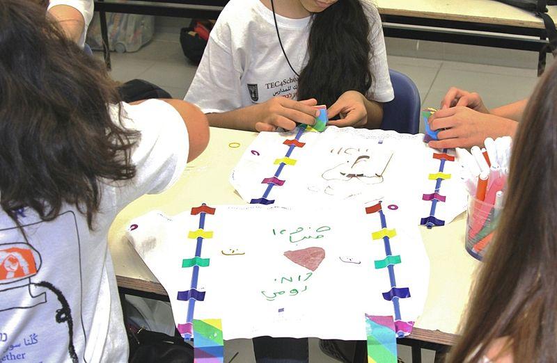 tec4schools מפגש רב תרבותי ברמת החייל