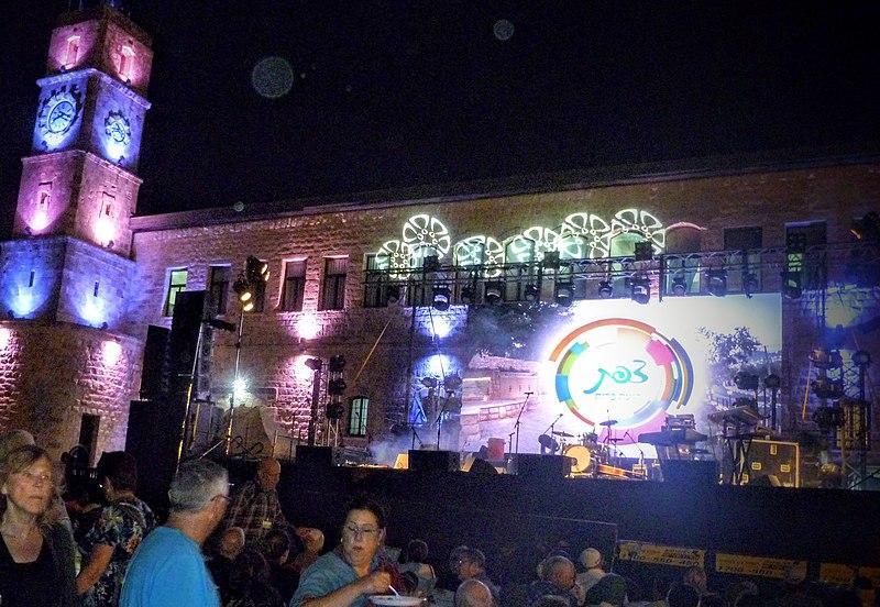 פסטיבל הכליזמרים ה 29 בעיר צפת, הלילה הראשון