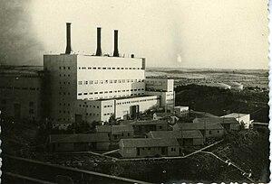 Eshkol Power Station - Eshkol Power Station in 1963
