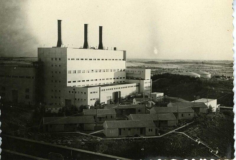 תחנת הכוח אשכול ליד אשדוד