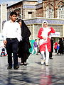 Pilgrims and People around the Holy shrine of Imam Reza at Niruz days - Mashhad - Khorasan - Iran 070.JPG