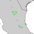Pinus pinceana range map 2.png