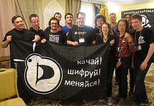 The Pirates Center of Belarus - Belarusian Pirates on General Assembly of Pirates Parties International 2013