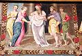 Pittore tosco-emiliano, misteri del rosario, 1550-1600 circa 05 presentazione al tempio.JPG