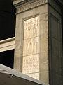 Placa Francesc Pujols, plaça Reial 10.jpg