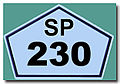 Placa da SP 230 REFON ..jpg