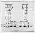 Plan du château de Chanteloup, rez-de-chaussée – André 1935, after p. 20.jpg