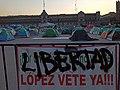 Plantón de FRENA (Frente Nacional Anti- AMLO) en el Zócalo, Ciudad de México - 4.jpg