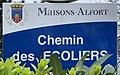 Plaque Chemin Écoliers - Maisons-Alfort (FR94) - 2021-03-22 - 1.jpg